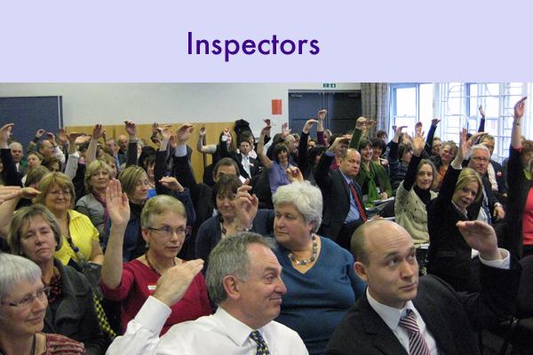 3 inspectors