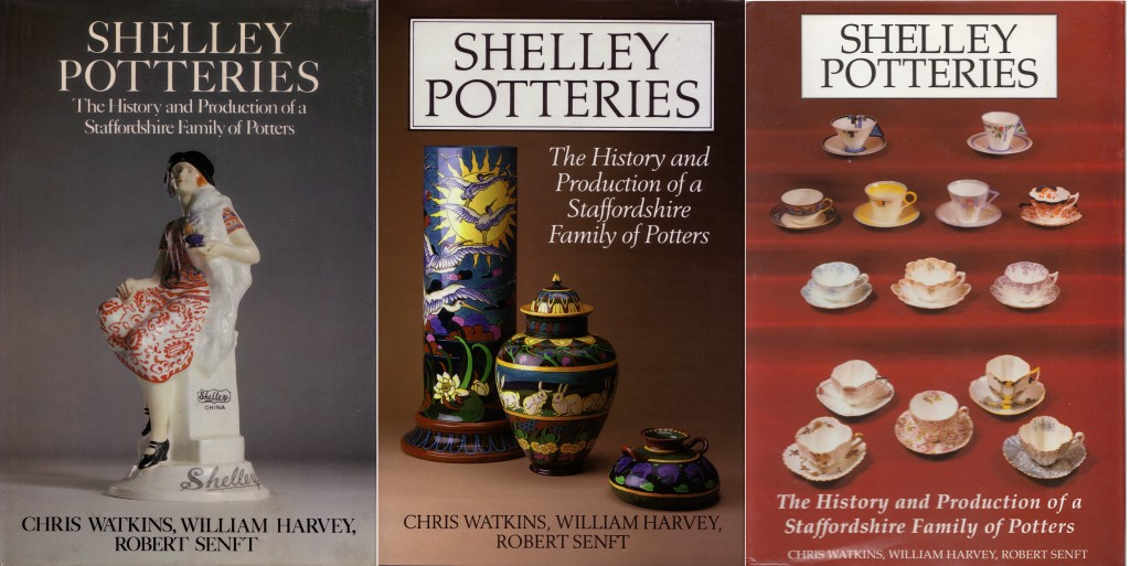 THREE Shelley book covers'
